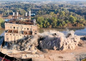 North Carolina Power Plant Demolition
