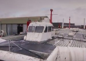 Hovercraft Decommissioning Time-lapse