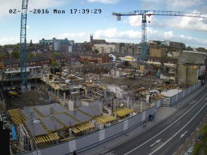 Construction Timelapses underway in Dublin