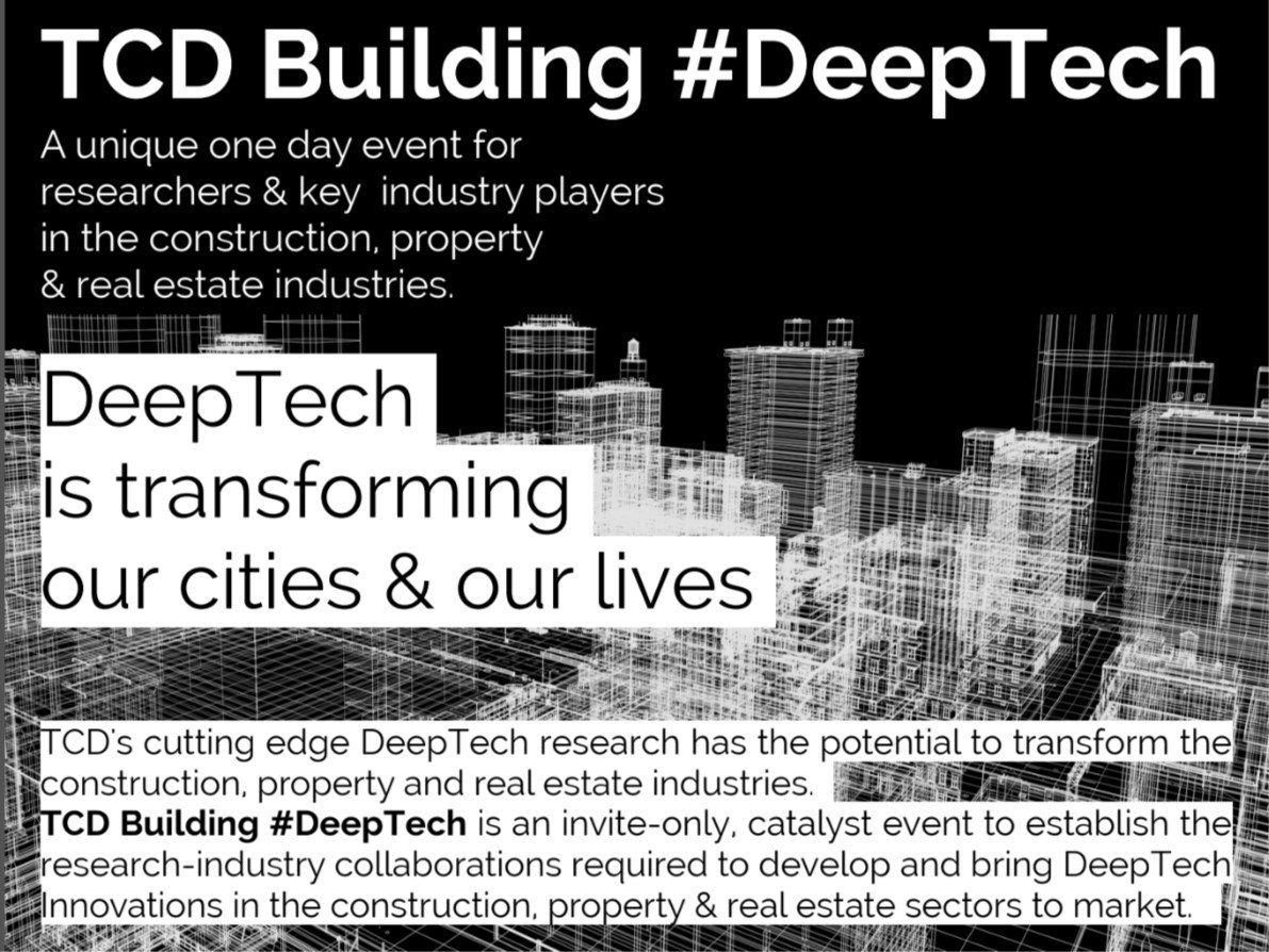 Building #DeepTech at Trinity College Dublin