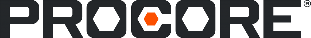 This image is the logo of Procore.