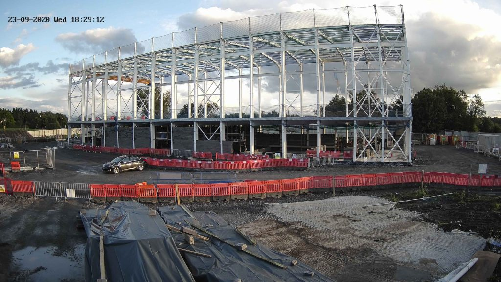 Suir Kellystown camera view of the construction site